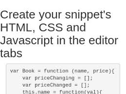 javascript pattern for price bootstrap snippet chaining pattern using html css javascript