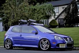slammed volkswagen gti got my roof rack and lowered it more vw gti forum vw rabbit