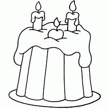 happy birthday cake coloring pages 2 coloringstar