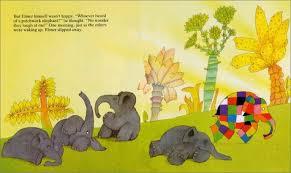 Elmer The Patchwork Elephant Story - elmer elmer books david mckee social skills