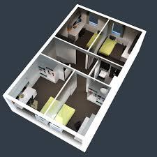 bedroom ideas house plan design in galleryn exterior photo of 3d 2