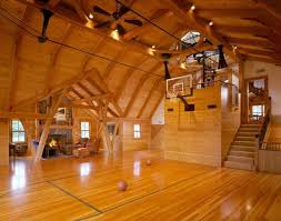 Check Out These  Modern Indoor Home Basketball Courts Plans And - Home basketball court design