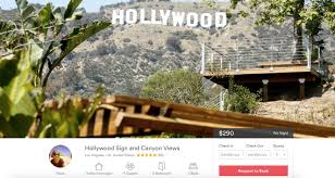 la residents try to hide hollywood sign from tourists except on