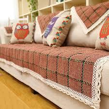 plaid coton canapé 70 70 90 240 cm plaid coton armure housse de canapé dentelle