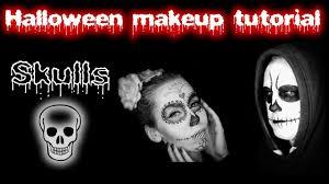 Sugar Skull Halloween Makeup Skulls Halloween Makeup Tutorial Sugar Skull Lebkouni