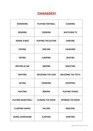 40 free esl gerunds worksheets