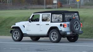 2018 jeep wrangler spy shots entire 2018 jeep wrangler lineup photographed on road 40 images