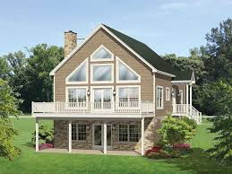 a frame lake house plans eplans a frame house plan roomy vacation cottage 1691 square