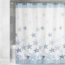 Hawaiian Print Shower Curtains by Starfish Seascape Shower Curtain Christmas Tree Shops Andthat