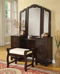 Vanity Stools And Chairs Bedroom Best Brown Wood Ikea Vanity Set With Stools And Folding