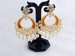 jhumka earrings uk indian earrings earrings kundan earrings hoop