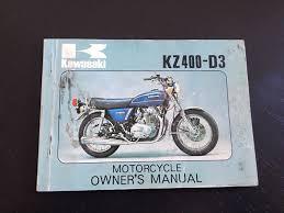 kawasaki owners manual kz400 d3 u2022 cad 48 32 picclick ca
