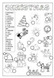 100 best christmas worksheets printables english on www cattpix com