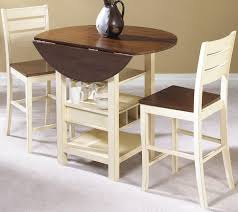 Apartment Size Dining Set by Small Drop Leaf Kitchen Table And Chairs Drop Leaf Round Dining