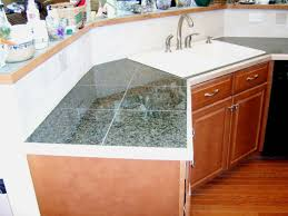 granite countertop amish kitchen cabinets illinois tin
