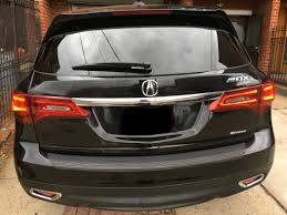 acura mdx tpms light inner taillight tailgate tail light not working or burned out help