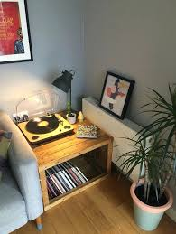 record player table ikea record player table new mid century modern record player console