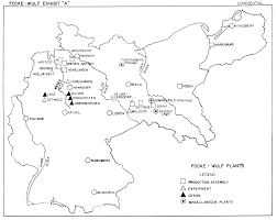 Schweinfurt Germany Map by Focke Wulf Report