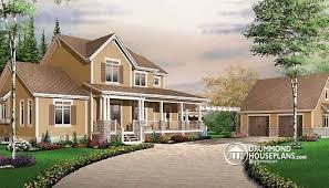 4 car garage house plan w3603 detail from drummondhouseplans com