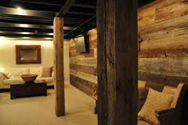 how to cover a support pole in the basement debi carser designs