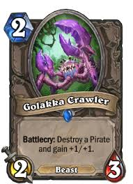 golakka crawler hearthstone cards