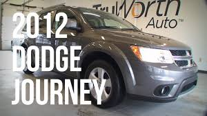 2012 dodge journey clean carfax aux usb inputs truworth auto