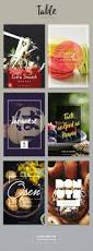 12 best table tent design images on pinterest restaurant