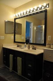home decor large bathroom mirrors with lights modern home