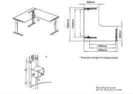 Reception Desk Height Dimensions Desk Measurements Mm Muallimce