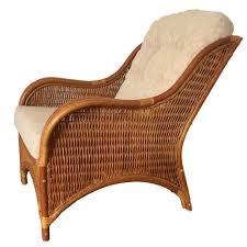 rattan lounge sofa rattan lounge armchair karmen color light brown with cushions