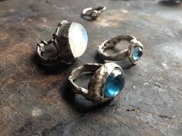 custom silver jewelry buy made forged sterling silver rings made to order