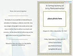 funeral invitation template free folded funeral template my sweet momma template
