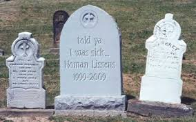 gravestone sayings headstone costume decor ideas cemetery