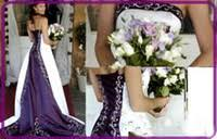 Purple And White Wedding Purple And White Wedding Dress Elegant And Delicate Wedding
