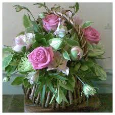 basket of flowers basket of flowers