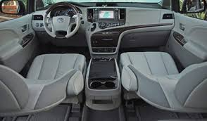 2011 Toyota Sienna Interior 2011 Toyota Sienna Ltd Review U0027first Class Travel Any Way You Want