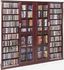 sliding glass door protection amazon com leslie dame ms 1400dc mission style multimedia storage