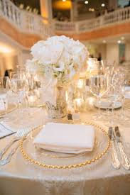Pink And Gold Table Setting white and gold table settings home design