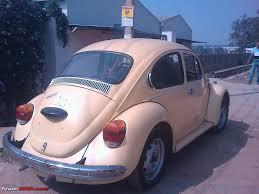 old volkswagen beetle modified 1970 vw beetle restoration delivered team bhp