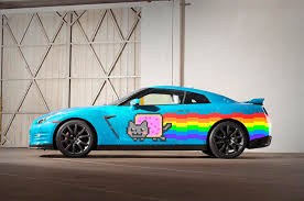 Gtr Meme - nissan to the rescue car maker gifts nyan cat gtr to deadmau5 after