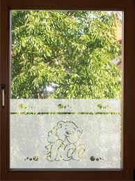 fensterfolie kinderzimmer fensterfolie glasdekor kinderzimmer 65cm hoch sichtschutzfolie nr