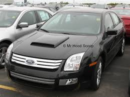 ford fusion fusion hood scoop hs003 by mrhoodscoop