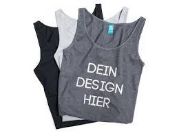 tops selbst designen tank top bedrucken tops selbst gestalten spreadshirt