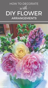 decorating home with flowers diy flower arrangements and design the accidental florist diy