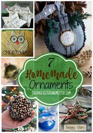 7 easy ornaments salvage and mister