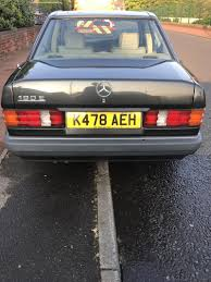 1992 mercedes benz 190 e for sale classic cars for sale uk