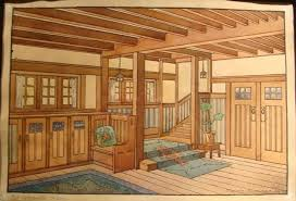 craftsman home interiors gustav stickley craftsman homes interiors arts crafts period