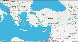 ankara on world map best trip planning for cyprus travel with current travel map