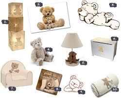 stickers nounours pour chambre bébé décoration chambre bébé ours