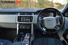 land rover inside 2016 2013 range rover vogue se sdv8 review video performancedrive